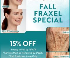 Fall for FRAXEL
